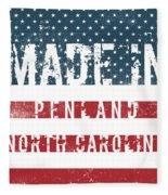 Made In Penland, North Carolina Fleece Blanket