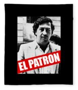 Pablo Escobar Fleece Blanket