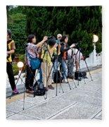 Photographers Fleece Blanket