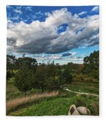 Sagamore Hill Fleece Blanket