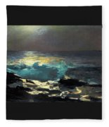 Sunlight On The Coast - Digital Remastered Edition Fleece Blanket