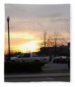 Sunset 7 Fleece Blanket