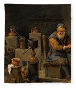 The Alchemist  Fleece Blanket