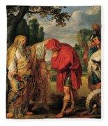 The Consecration Of Decius Mus        Fleece Blanket