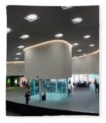 The New Art Center In Taiwan Fleece Blanket