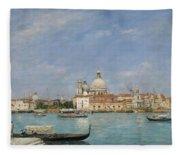 Venice, Santa Maria Della Salute From San Giorgio - Digital Remastered Edition Fleece Blanket