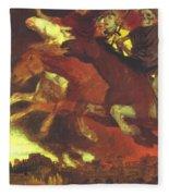 War 1896  Fleece Blanket