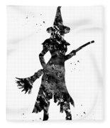 Wicked Witch Fleece Blanket