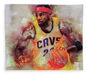 Lebron Raymone James Fleece Blanket