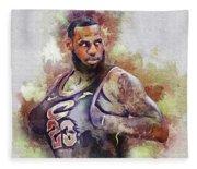 Lebron Raymone James Fleece Blanket
