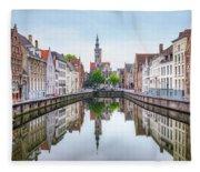 Brugge - Belgium Fleece Blanket