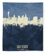 Las Vegas Nevada Skyline Fleece Blanket
