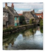 Swanage - England Fleece Blanket