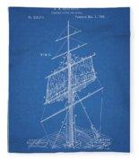 1885 Sails Patent Fleece Blanket