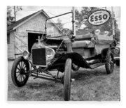 1915 Ford Model T Truck Fleece Blanket