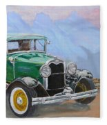 1932 Ford Model A  Fleece Blanket