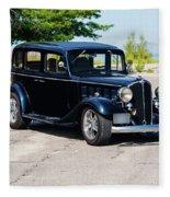 1933 Buick 50 Series Fleece Blanket