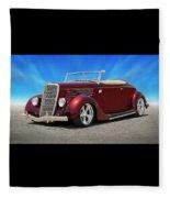 1935 Ford Roadster Fleece Blanket