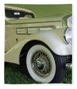 1935 Pierce Arrow Fleece Blanket