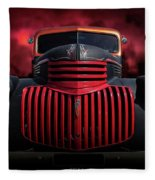 1946 Pickup Fleece Blanket