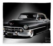 1951 Cadillac Series 62 Convertible Fleece Blanket