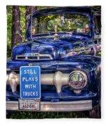 1951 Mercury Pickup Truck Fleece Blanket