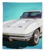 1966 Vette Fleece Blanket