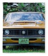 1970 Ford Torino Gt Fleece Blanket