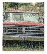 1971 Ford Pickup Truck For Sale In Utah Fleece Blanket