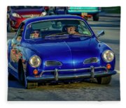 1974 Volkswagen Karmann Ghia  Fleece Blanket