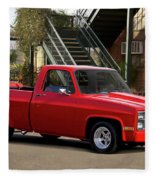 1983 Chevrolet C10 Lrhh Pickup I Fleece Blanket