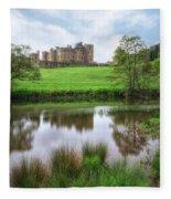 Alnwick - England Fleece Blanket
