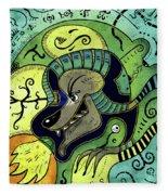 Anubis Fleece Blanket