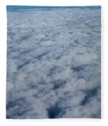 Beautiful Cloudscape High Up In The Sky. Fleece Blanket