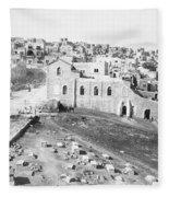 Bethlehem 19th Century Fleece Blanket