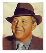 Charles Laughton, Vintage Actor Fleece Blanket
