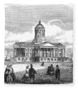 Charleston, 1857 Fleece Blanket