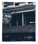 City News - Mansfield, Ohio Fleece Blanket