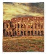 Colosseo, Rome Fleece Blanket
