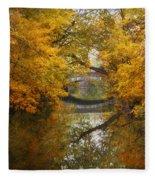 Country Bridge Fleece Blanket