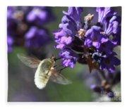 Fly Bee Fleece Blanket