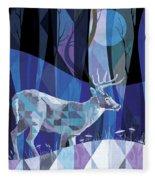 Ghost Walker Fleece Blanket