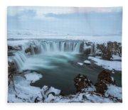 Godafoss - Iceland Fleece Blanket