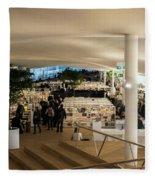 Helsinki Central Library Fleece Blanket