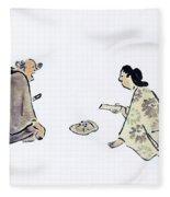 Oil Painting Fleece Blanket
