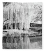 Reflections Of The Landscape Fleece Blanket