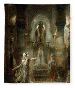 Salome Dancing Before Herod Fleece Blanket
