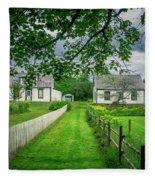 Sherbrooke Village Fleece Blanket
