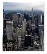 Sky High  Fleece Blanket