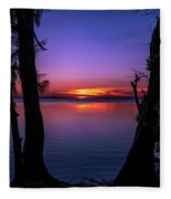 Spectacular Sunset Fleece Blanket
